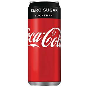 Läsk Coca-Cola Zero, 330 ml, förp. med 20 st.