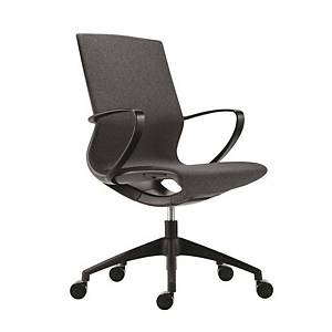 Kancelárska stolička Antares Vision, čierna & sivá