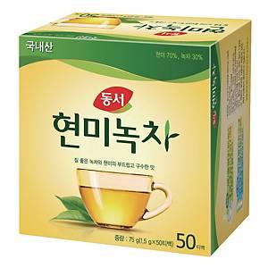 PK50 DONGSUH  BROWN RICE GREENEEN TEA 1.5GREEN