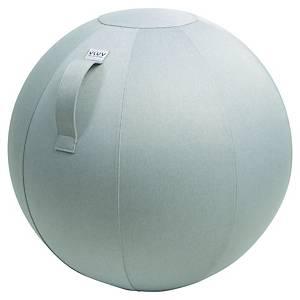 Ballon d assise dynamique Vluv Leiv - Ø 65 cm - gris argent
