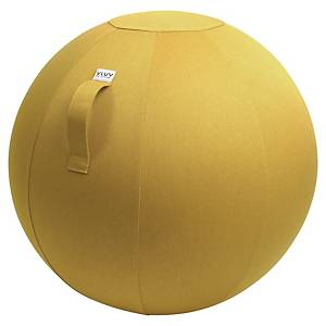Ballon d assise dynamique Vluv Leiv - Ø 65 cm - moutarde