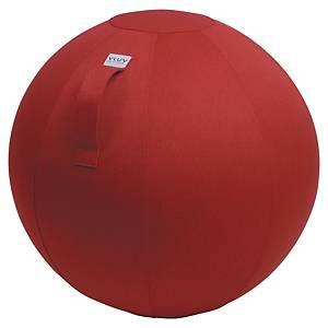 Ballon d assise dynamique Vluv Leiv - Ø 65 cm - rouge