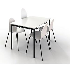 ZIGNAL CANTEEN TABLE W/LIFT 120X80 WHITE
