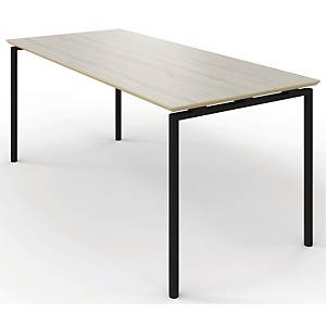 ZIGNAL CANTEEN TABLE W/LIFT BIRCH 180X80