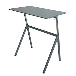 STANDUP RAISING TABLE MONOCHROME GREY