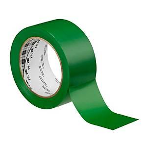 3M™ 764i marking vinyl tape, 50 mm x 33 m, green