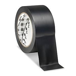3M™ 764i vinyl marking tape, 50 mm x 33 m, black