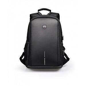 PORT DESIGNS CHICAGO EVO hátizsák 15,6   NTB-hoz és 10,1  Tablethez, fekete