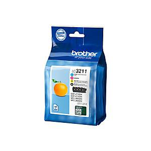 Tinte Valuepack BROTHER DCP-J774DWW, 200 Seiten, CMYBK
