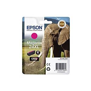 EPSON Tintenpatrone 24XL magenta T243340 XP 750/850 500 Seiten