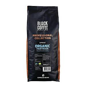 Espressobönor BKI Black Coffee Roasters Organic Fairtrade Espresso, 1 kg