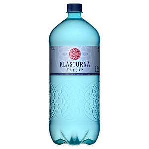 Minerální voda Kláštorná Kalcia jemně perlivá, 1,5 l, 6 kusů