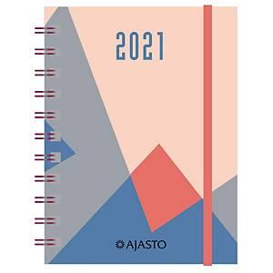 Ajasto Designote taskukalenteri 2021 105 x 148 mm