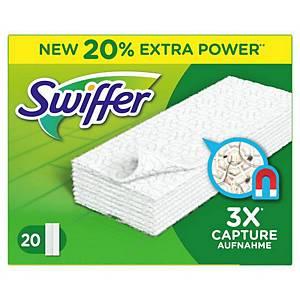 Swiffer vloerreiniger vervangdoekjes, pak van 20 doekjes