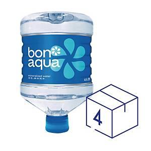 Bonaqua Mini-carboy water 4.8Liter - 4pcs