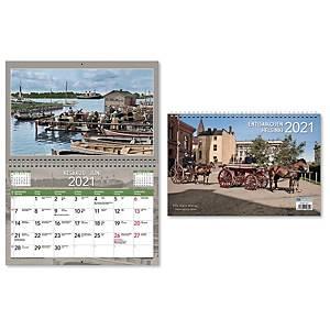 CC 5541 Entisaikojen Helsinki seinäkalenteri 2021 300x400 mm