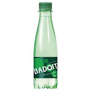 Eau gazeuse Badoit verte 33 cl - carton de 30 bouteilles