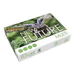 Papier A4 blanc New Future Multi, 80 g, avec 4 perforations, les 500 feuilles