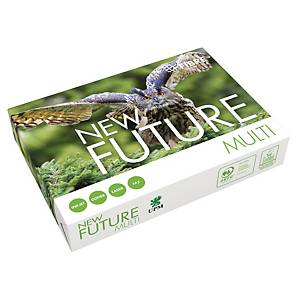 Multifunktionspapir New Future Multi, med hul, A4, 80 g, 500 ark
