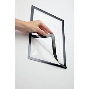 Informačné puzdro Durable Duraframe, A4, čierne