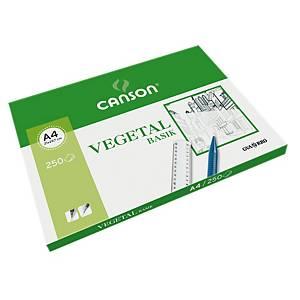 250 hojas de papel vegetal GUARRO Basik 9 A4 90 g