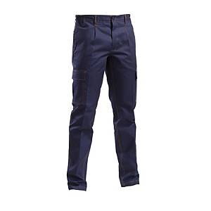 Pantaloni ignifughi P&P Loyal IGN02128 navy tg 2XL