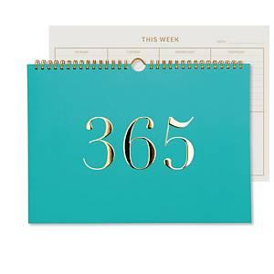 Go Stationery Colourblock 365 Desk Calendar