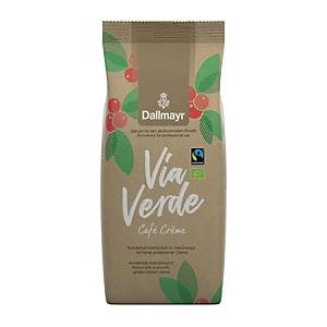 Kaffee Dallmayr Via Verde Cafe Creme, ungemahlen, 1000g
