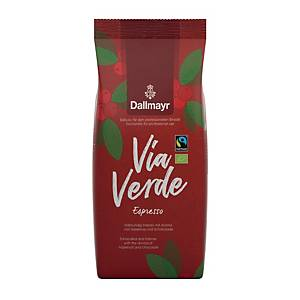 Kaffee Dallmayr Via Verde Espresso, ungemahlen, 1000g