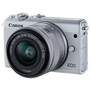 Appareil photo hybride Canon EOS M100 - 24,2 Mpx - blanc