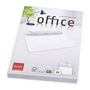 PK25 ELCO C6 OFFICE ENVELOPES 114X162