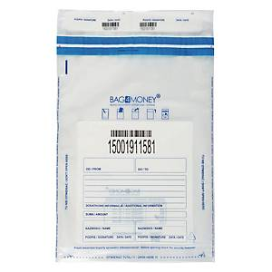PK100 BAG4MONEY SAFE ENVELOPE C3 TRANSP