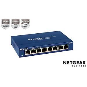 Switch Netgear GS108GE 8 porte lan