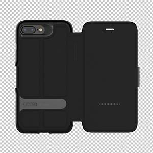Schutzhülle Gear4 Oxford Case, iPhone 6+/6s+/7+/8+, schwarz
