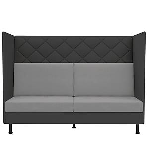 Sofa Dauphin Atelier med høj ryg antracit