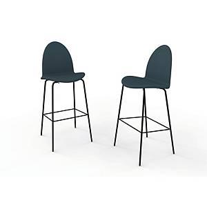 Højstol Ø48 sortbejdset ask