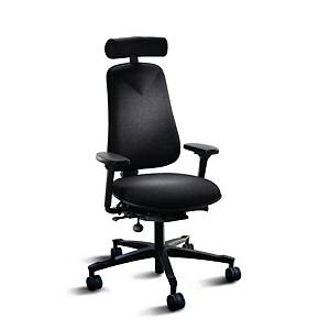 LANAB HÖGANÄS +381 OFFICE CHAIR BLACK
