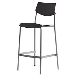 LANAB OFFICELINE ALLO HIGHCHAIR BLACK