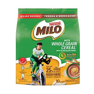Milo Whole Grain Cereal Stick 36g Pack of 10