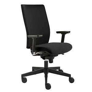 Manažérska stolička Alba Kent Exclusive, čierna