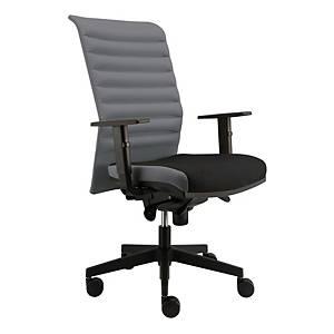 Kancelárska stolička Alba Reflex VIP, sivá