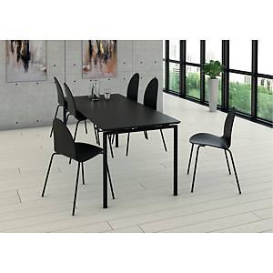 Sæt med kantinebord og seks stole Fumac