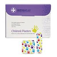 Washproof Children S Plasters - Box of 100
