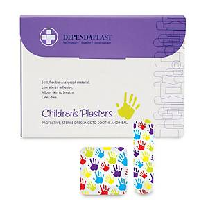 Washproof Children S Plasters - Box of 100