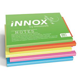 PK5 Innox sähköstaattiset viestilaput 10 x 7cm värilajitelma