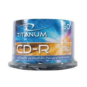 Płyta Esperanza Titanium CDR 700 mb 52x na szpindlu, 50 szt