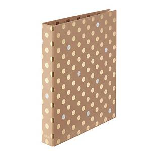 Herlitz Pure Glam maX.file Ringbuch, 2-Ring A4, 2,5 cm