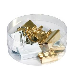 HERLITZ FOLD BACK CLIPS 3 SIZES ASSTD
