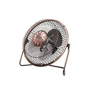 ZIMINS ZM-2200 USB 6INCH TABLE FAN GOLD
