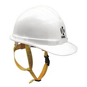 Korel 星嘜 安全帽連下巴帶 白色